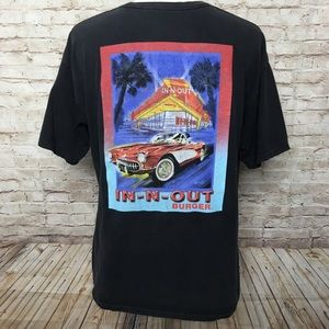 In n Out Wharf California Promo T-shirt